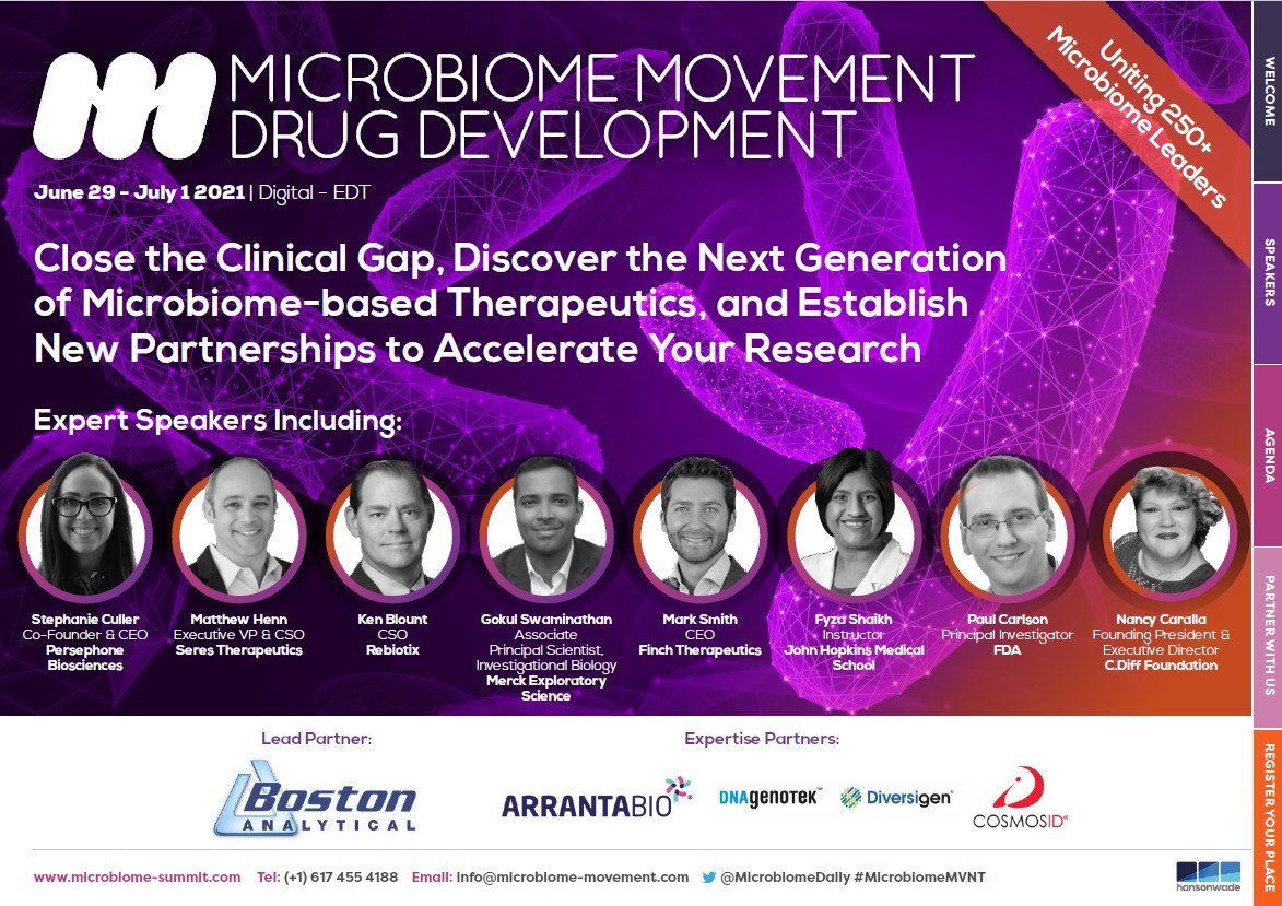 Microbiome Movement - Drug Development Summit - Event Guide